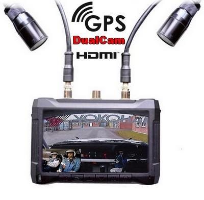 Caméra Rallye VTR V3 GPS Double caméra
