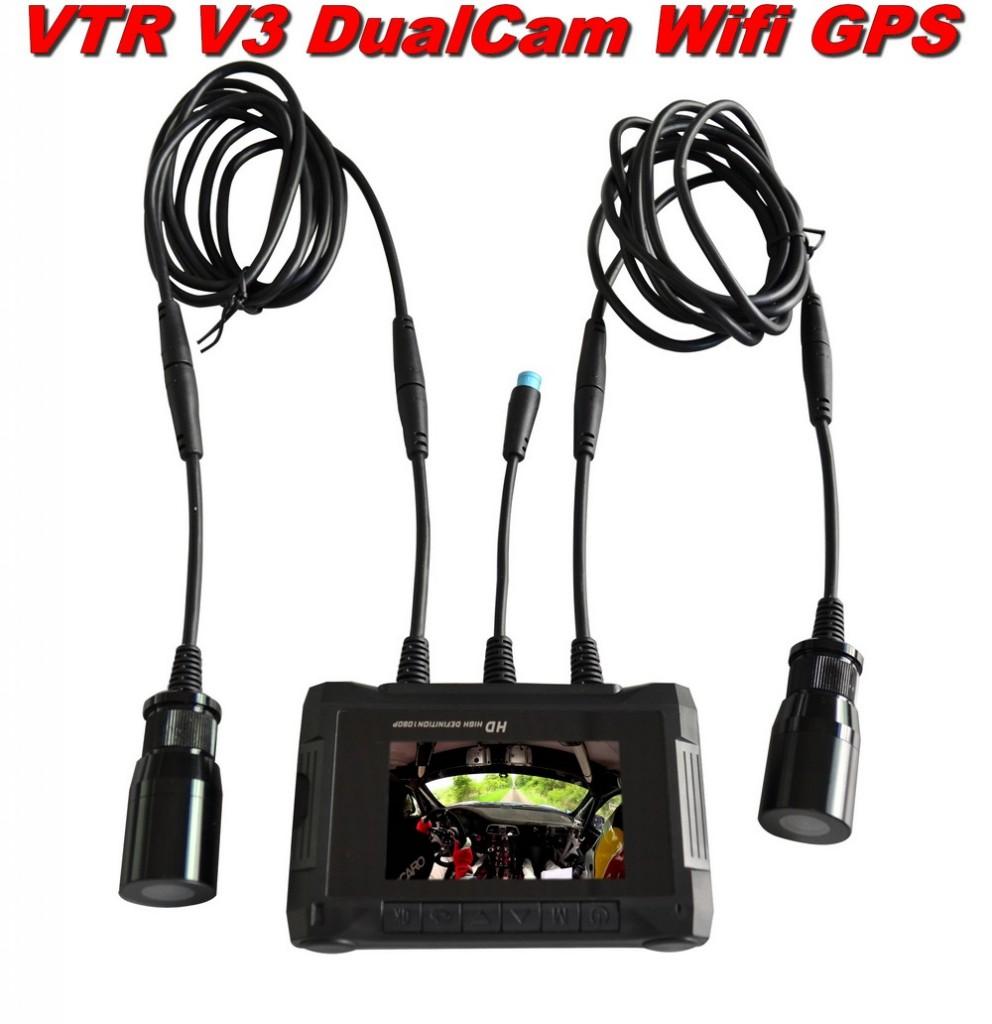 camera rallye VTR V3 DualCam