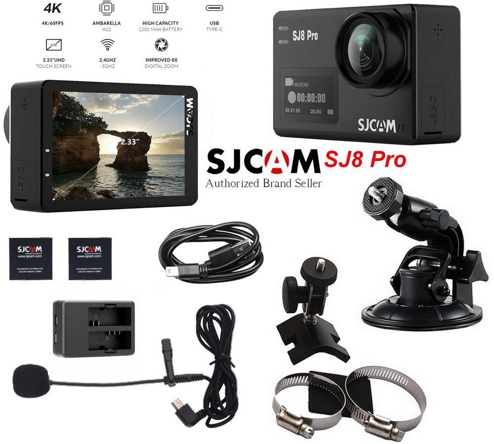 Caméra SJ8 Pro Rallye